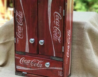 Vintage Coca Cola Cabinet