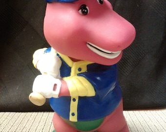 Baseball Barney (#2) coin bank by Lyons made in China in 1982