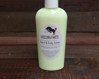 Unicorn Farts Handmade Lotion - One 8oz Bottle