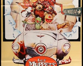 """Muppet Movie (1979) Original French Grande Movie Poster - 46"""" x 62"""""""