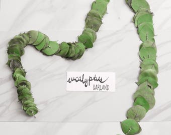 """60"""" Eucalyptus Garland - Hanging Greenery for Home Decor or Party"""