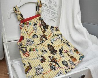 Girl overalls dress