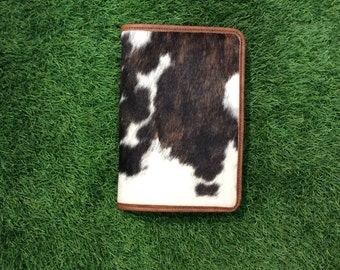 Cowhide bible cover, leather, bible, book cover, birthday, confirmation