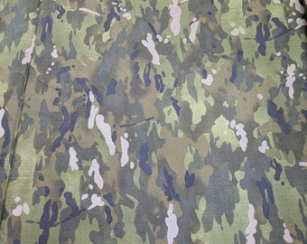 Home of the Brave-Green Camouflage Cotton Fabric from Moda Fabrics