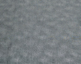 Silver on Charcoal Cotton Fabric from Hoffman Fabrics