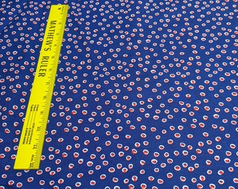 Handmade-Red Dots Cotton Fabric from Windham Fabrics