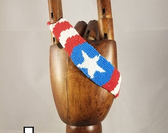 Captain America Friendship Bracelet
