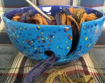 Small Ceramic Yarn Bowl