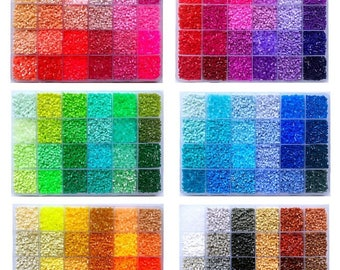 Set ~ 2.6mm H-Series (144 Colors) - High Quality Mini Beads Box Set