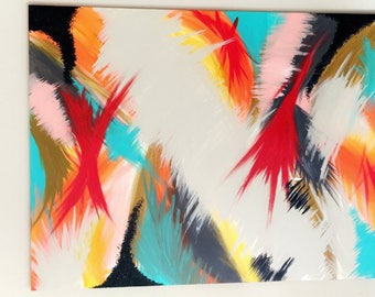 Abstract Art, Canvas Painting