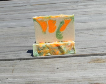 Magnolia and Orange Blossom Goat's Milk Soap