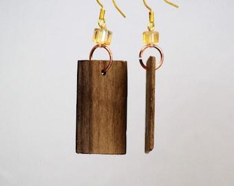 Hardwood Earrings