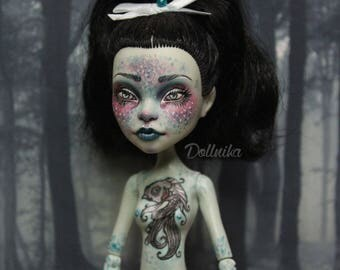 Monster high repaint nude doll