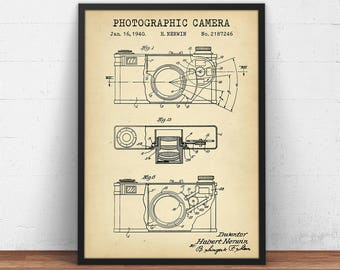 Camera blueprint etsy malvernweather Gallery