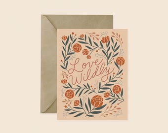 Love Wildly Card