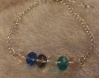Czech Crystal Bar Bracelet