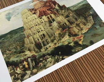 Peter Bruegel 'Tower of Babel' Giclee Print