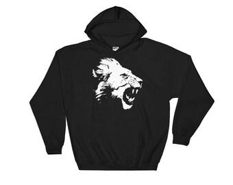 Lion Hoodie Hooded Sweatshirt