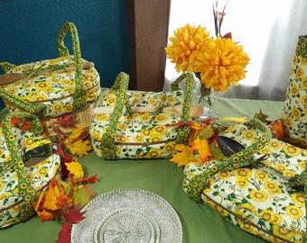 Sunflower Casserole Carrier Line