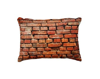 Brick Wall - Street Art - Cushion