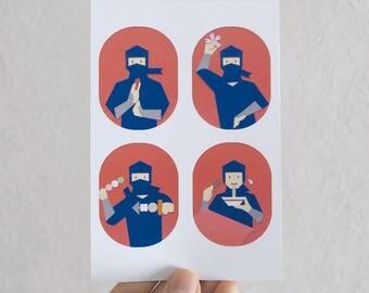 "Postcard ""Welcome to Japan"""
