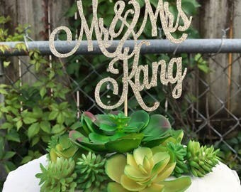 Custom Mr & Mrs Cake Topper, Wedding Cake Topper, Custom Cake Topper for Wedding, Custom Mr and Mrs Cake Topper