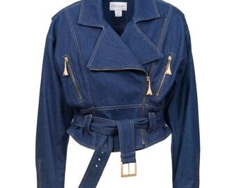 Emanuel Ungaro Denim Jacket 1980's