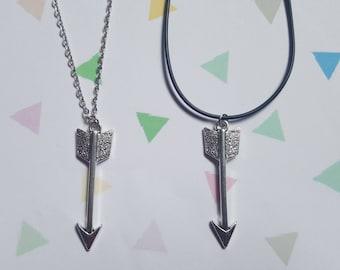 Arrow necklace, Arrow pendant, Arrow, Pendant necklace, Fantasy, Fantasy jewellery, Archery, Unusual gift idea