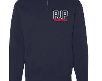 PJPII Volleyballl 1/4 Zip Sweater parents
