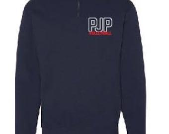 PJPII Volleyballl 1/4 Zip Sweater