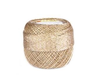 YarnArt Camellia metallic yarn shinny yarn thread yarn crochet yarn hand knit yarn shinny metallic yarn gold yarn