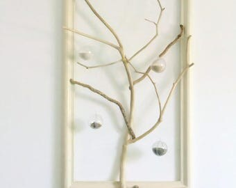 Tree of life Driftwood - sand and shells - sculpture - unique creation