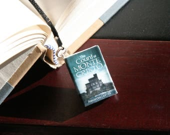 The Count of Monte Cristo by Alexandre Dumas Miniature Book Charm Bookmark