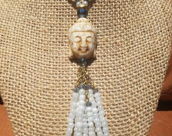 Buddha Jewelry Set, Buddha, Baby Blue Set, Handcrafted, Custom Made, Gifts, Set, Custom set, For Her.