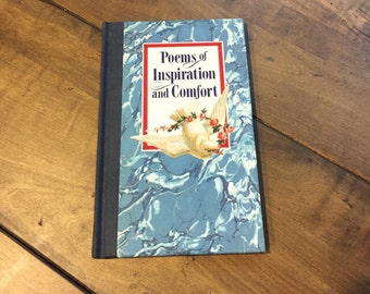 Poems of Inspiration and Comfort Book by Gail Harvey - Poem Book - Inspiration Book - Hardcover