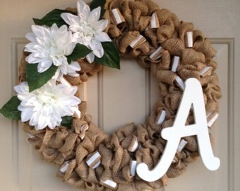 Special Order  Initial  Wreath