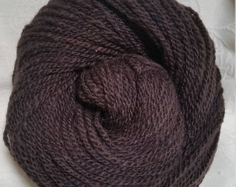 Double Ply Worsted Handspun Long-Wool Yarn (Lot 57)