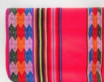 baby blanket, Peruvian blanket, swaddle blanket, stroller blanket, crib blanket, newborn blanket, baby shower gift - The Peruvian blanket