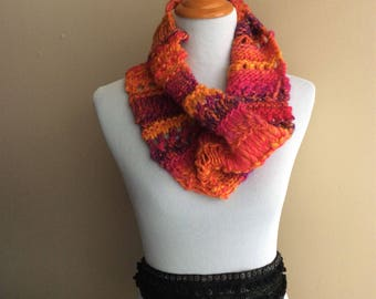 Colorful Crazy Cowl