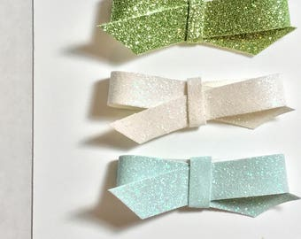 Summer Breeze Fine Glitter Twists/Trio/Glitter/Hair Clips/Headband