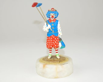"1996 ""Bubbles"" Ron Lee Clown Figurine 