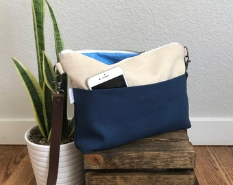 Cross body Bag - Blue