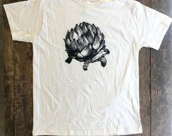 Artichoke Turtle Tee