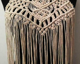 Hand-knotted Macrame Top