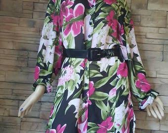 Plus size Hawaiian blouse/blouse size 5X