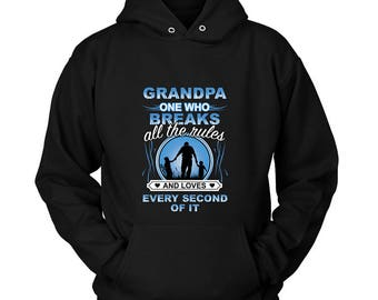 GRANDPA Hoodie Sweatshirt | Fathers Day Gift | Grandpa gift | Grandpa birthday | Gift from Grandkinds | Awsome Grandpa | Shipping US