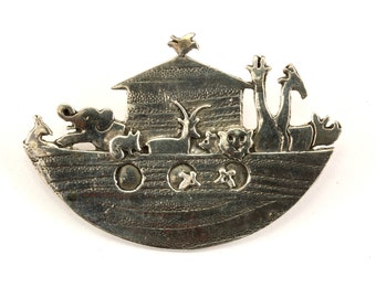 Vintage Zoo Design Pin/Brooch 925 Sterling BB 394-E