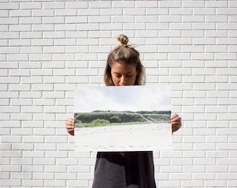 Grey Beach-Archival-Cold Press-Minimalistic-Photographic Print-12 x18 and 24 x 36