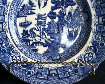 Allerton Willow Blue Scalloped Plate