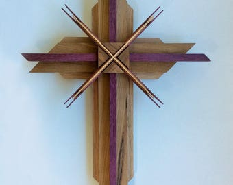 Reclaimed Wooden Cross